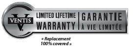 ventis warranty